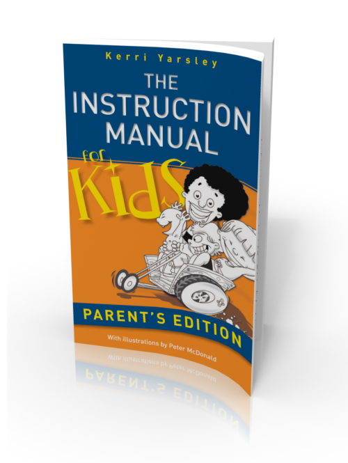 Instruction Manual For Kids Paperback