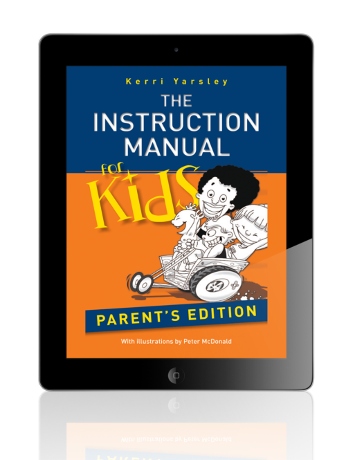 Instruction Manual For Kids e-book